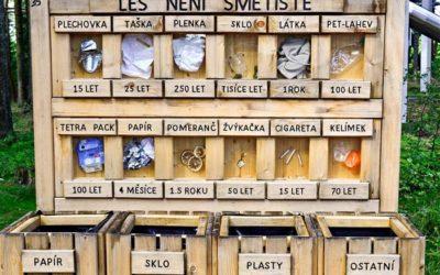 Krnov: Z městských lesů zmizí odpadkové koše
