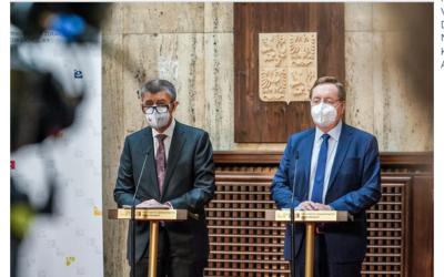 Premiér Babiš uvedl do funkce nového ministra zdravotnictví Petra Arenbergera