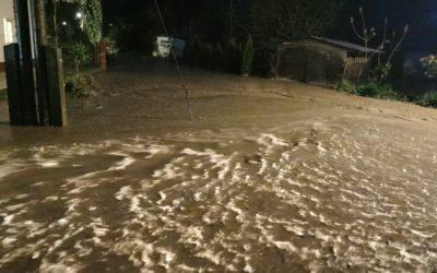Hrozí rozliti vodních toků na území povodí Odry