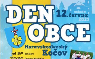 Den obce v Moravskoslezském Kočově nabízí pestrý program