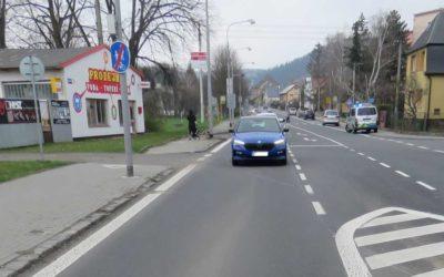 Policie žádá o svědecké informace k dopravní nehodě v Krnově