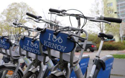Sdílená kola mají v Krnově úspěch