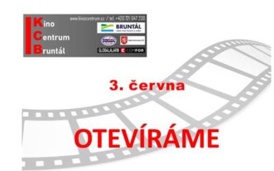 Kino v Bruntále začne promítat od 3. června