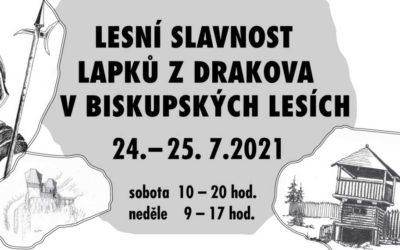 Spolek Přátelé Vrbenska: Připravujeme Lesní slavnost Lapků z Drakova