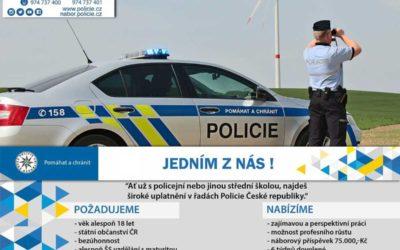 Přidejte se! Policisté na Opavsku hledají nové kolegyně a kolegy