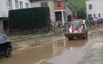Přívalový déšť znovu zasáhl Opavsko i Šilheřovice