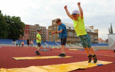 Krnov: Atletický stadion je opět v provozu