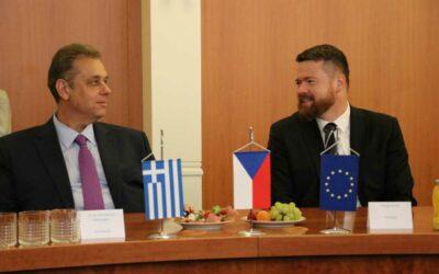 Krnov navštívil velvyslanec Řecké republiky