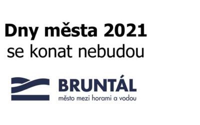 Městské slavnosti v Bruntále se letos konat nebudou