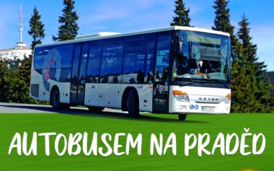 K vysílači na Pradědu lze dojet autobusem