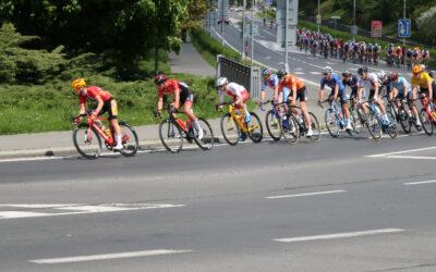 Závod míru U23 Grand Prix Jeseníky projel Bruntálem