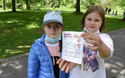 Bruntál: Dětem v parku připravili den her