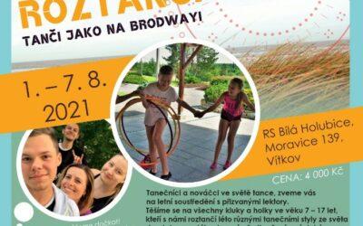 Středisko volného času Krnov zve na taneční tábor