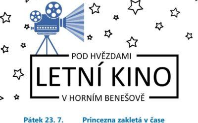 Horní Benešov zve do letního kina