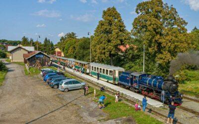 Začíná citlivá rekonstrukce čtyř nádraží na úzkorozchodné trati Třemešná ve Slezsku – Osoblaha