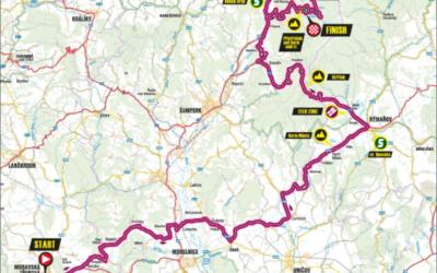 Rýmařovem projede cyklistický závod Sazka Tour