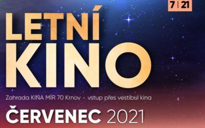 Letní kino Krnov: Pro příznivce promítání pod širým nebem je připraven bohatý program