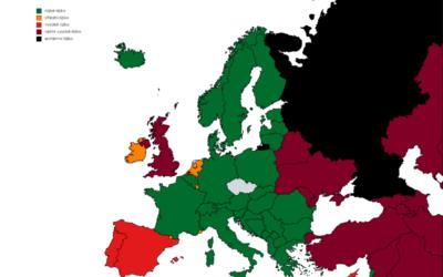 Kypr bude nově podle míry rizika nákazy v tmavě červené kategorii
