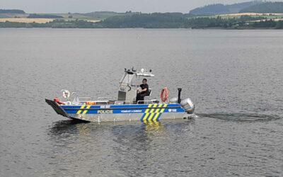 Na vodní nádrži Slezská Harta proběhla bezpečnostně preventivní akce