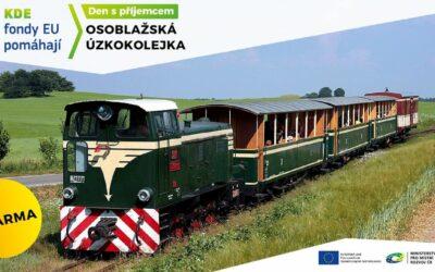 Projeďte se historickým vlakem po úzkorozchodné trati z Třemešné do Liptaně a zpět!