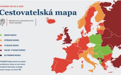 Přehledně k cestování: Německo se přesune do červené kategorie, volný průjezd přes Slovinsko prodloužen
