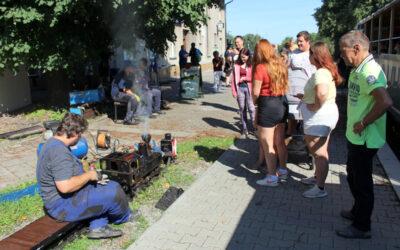 Na Osoblažské úzkokolejce si užili velký víkend s malou párou