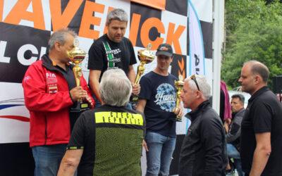 Na Vrbensku se jely mezinárodní závody do vrchu, vítězem se stal David Komárek