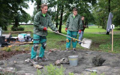 Mladí zahradníci za sebou v Krnově zanechali výraznou stopu