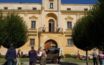 Historické vozy rozdávaly radost a krásu ve Slezských Rudolticích