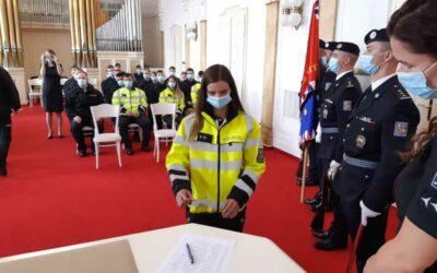 Krajské ředitelství Moravskoslezského kraje rozšířilo své řady o 36 nových policistů